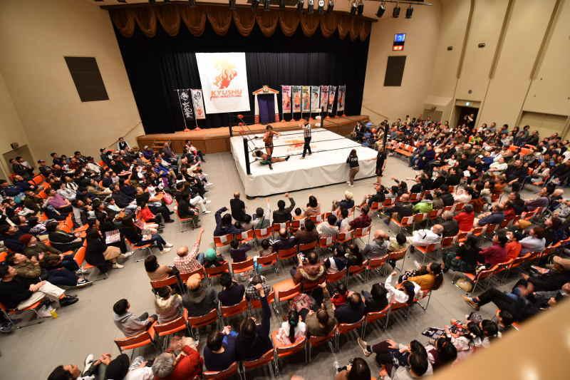 2019年12月1日 九州プロレス 長崎を元気にするバイ!
