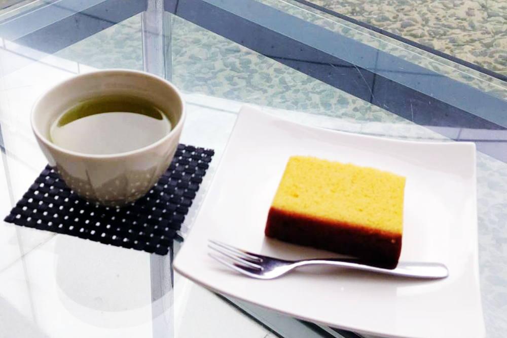 ピースカフェ カステラセット